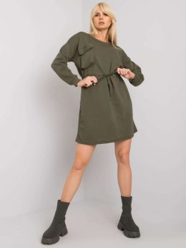 Sukienka-RV-SK-7011.27X-khaki [zul]